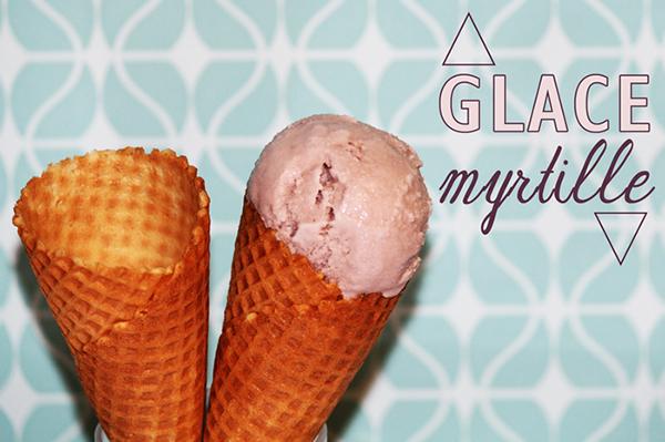 Glace la myrtille sans sorbeti re for Glace a la peche sans sorbetiere