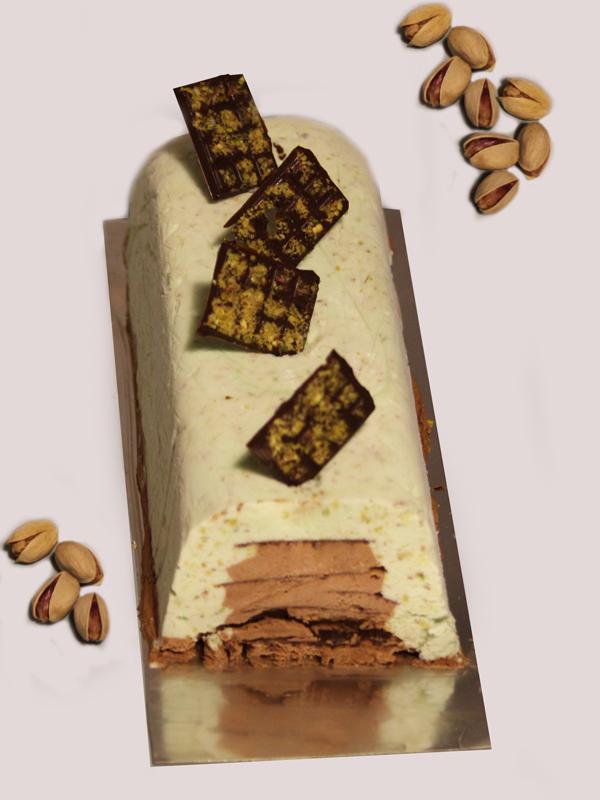 b che glac e chocolat tonka pistache sans sorbeti re. Black Bedroom Furniture Sets. Home Design Ideas