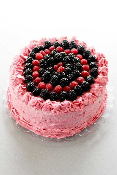 Layer Cake Recette Facile Fruits Rouges
