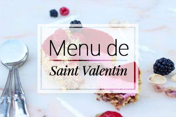 Un menu de saint valentin entr e plat dessert petit - Menu st valentin nos recettes faciles pour un diner delicieux ...